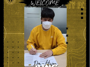 To round off our recruitment efforts for the time being, please welcome Korean Superstar Da-hwon Jun