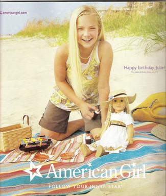 American Girl spring 2008 cover girl Lea