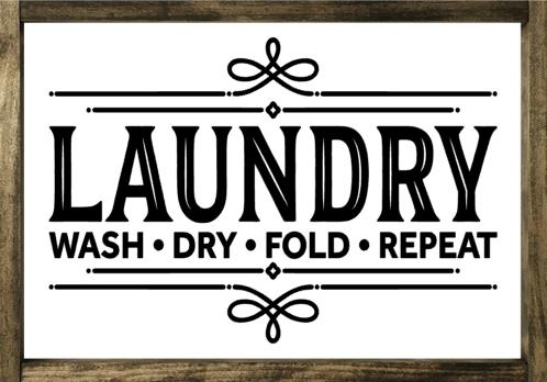 Laundry - Framed