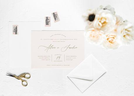 Minimal Invitation