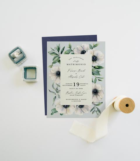 Anemone Invitation