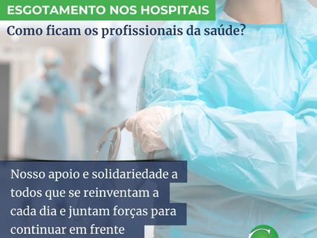 Esgotamento nos hospitais: como ficam os profissionais da saúde?