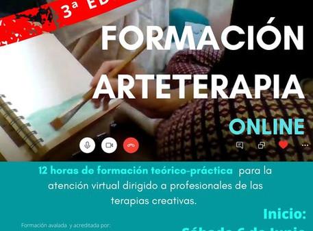 3ª Edición de la Formación de Arteterapia Online