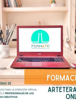 Nueva edición de la Formación Anual de Arteterapia Online
