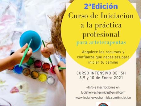 2ª Edición del curso de Iniciación a la práctica profesional para arteterapeutas