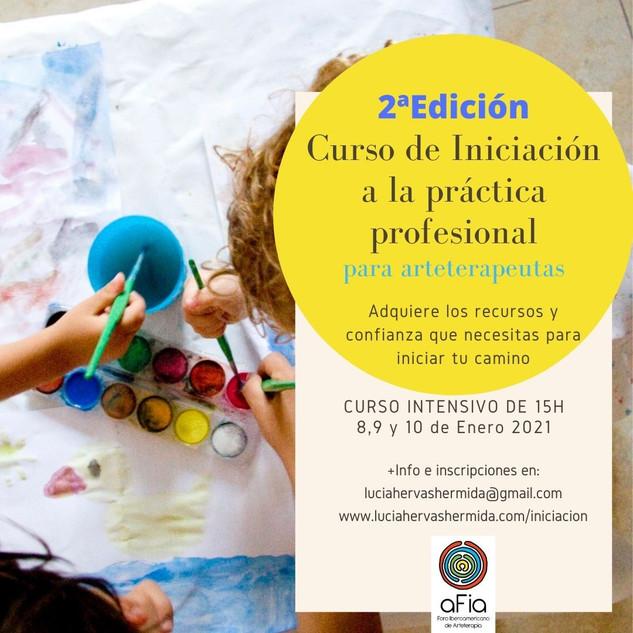 Curso Iniciacion a la práctica profesional para arteterapeutas