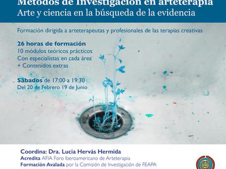 Formación en métodos de investigación en arteterapia. Arte y ciencia en la búsqueda de la evidencia.
