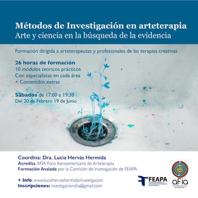 Formacion en métodos de investigacion en arteterapia
