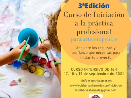 3ª Edición del curso de iniciación a la práctica profesional para arteterapeutas