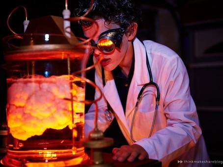 Ssssssh!  Scientific Experiment in Progress!
