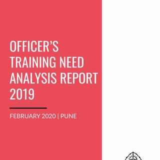 SCERT: Officer's Training Needs Analysis Report