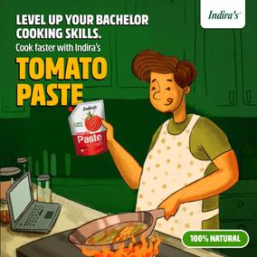 Social Media Ad for Indira's