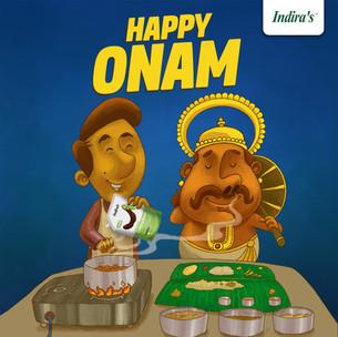 Onam Creative for Indira's