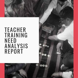Teacher Training Needs Analysis Report - Nashik