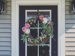How To Update Your Front Door Decor Without Spending A Fortune