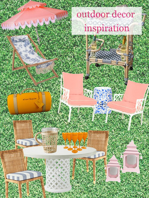 Outdoor Decor Inspiration and Plans