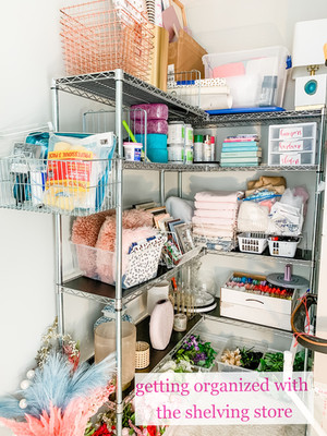 Getting Organized with The Shelving Store