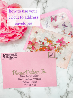 How to Use Your Cricut to Address Envelopes