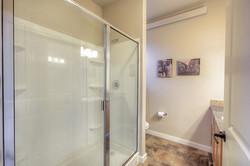 Large shower in master bath