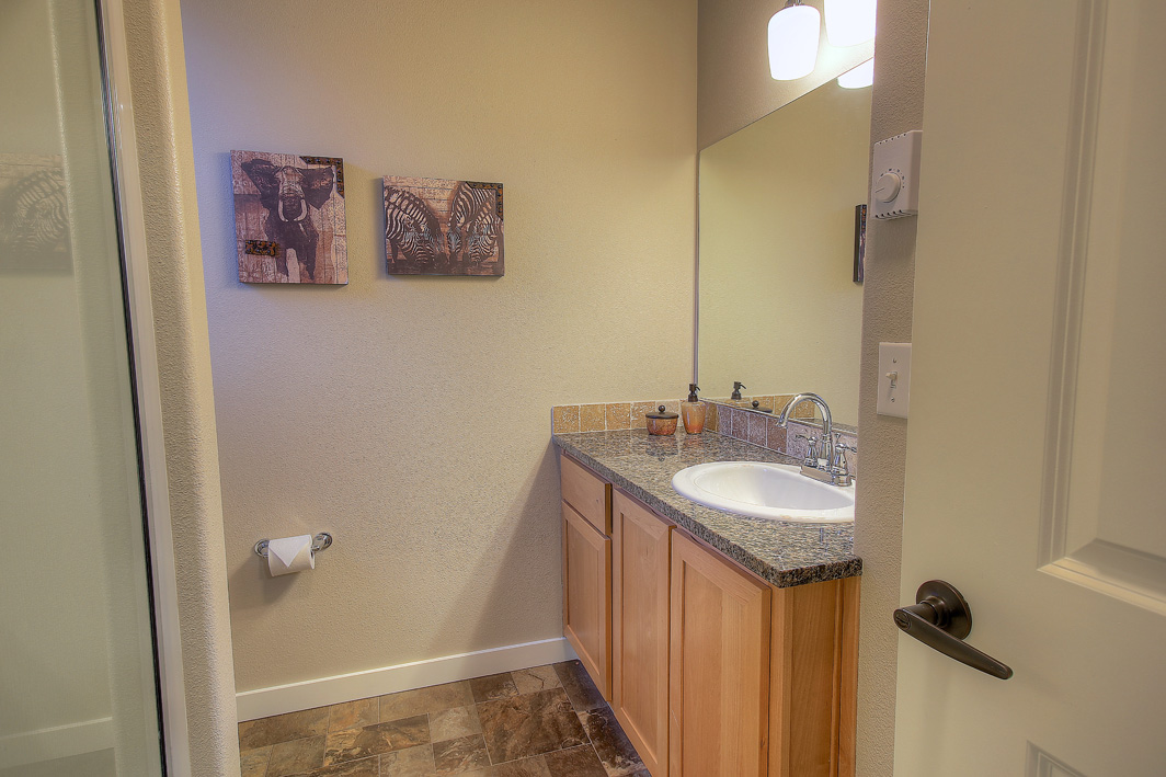 Upgraded master bath