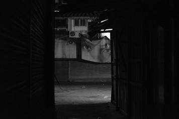 The Carmel Market at Night