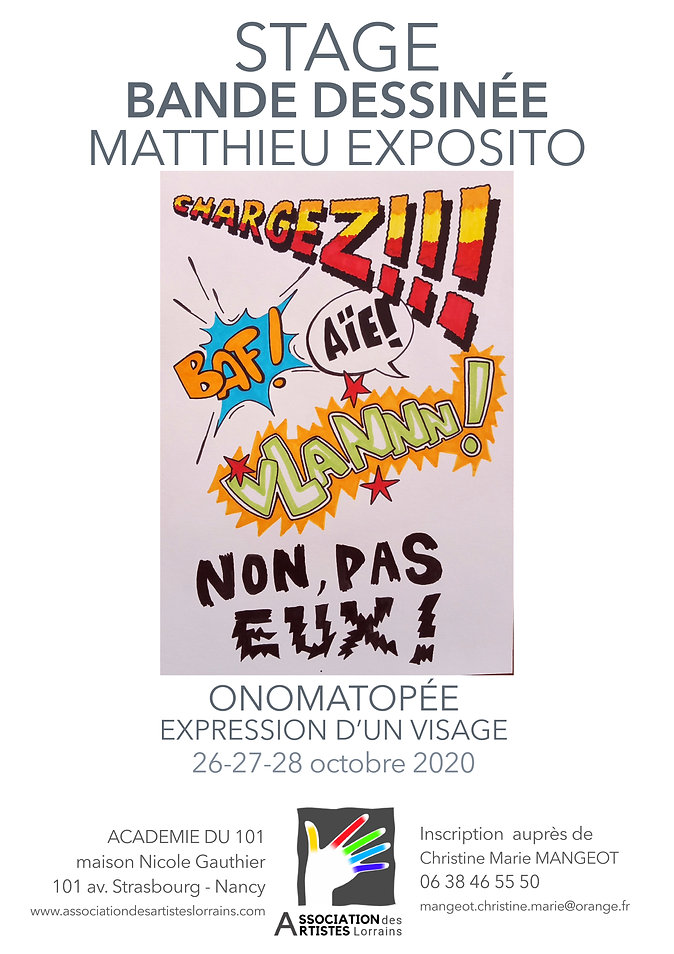 affiche stage BD Matthieu Exposito pdf.j