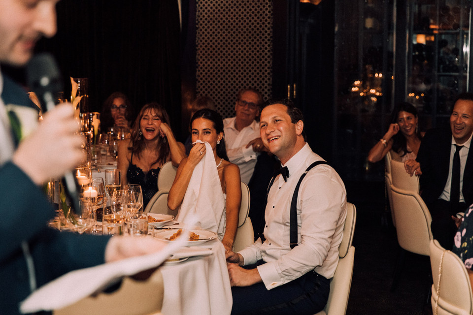 Eden Merrick Del Posto Wedding
