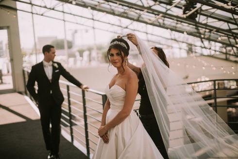 Holly Alex Tribeca Rooftop Wedding