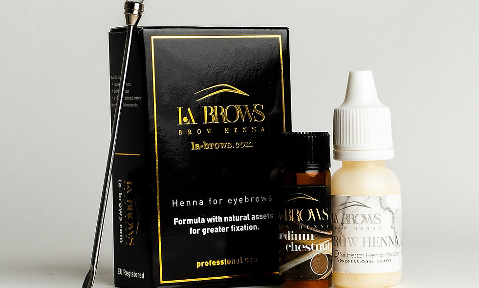 La Brows Henna - Medium Chestnut
