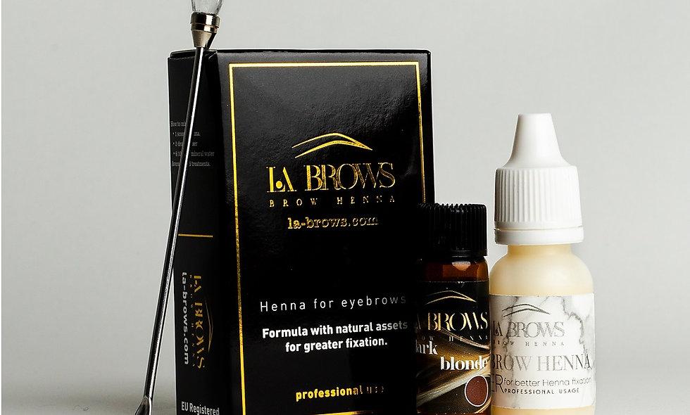 La Brows Henna - Dark Blonde
