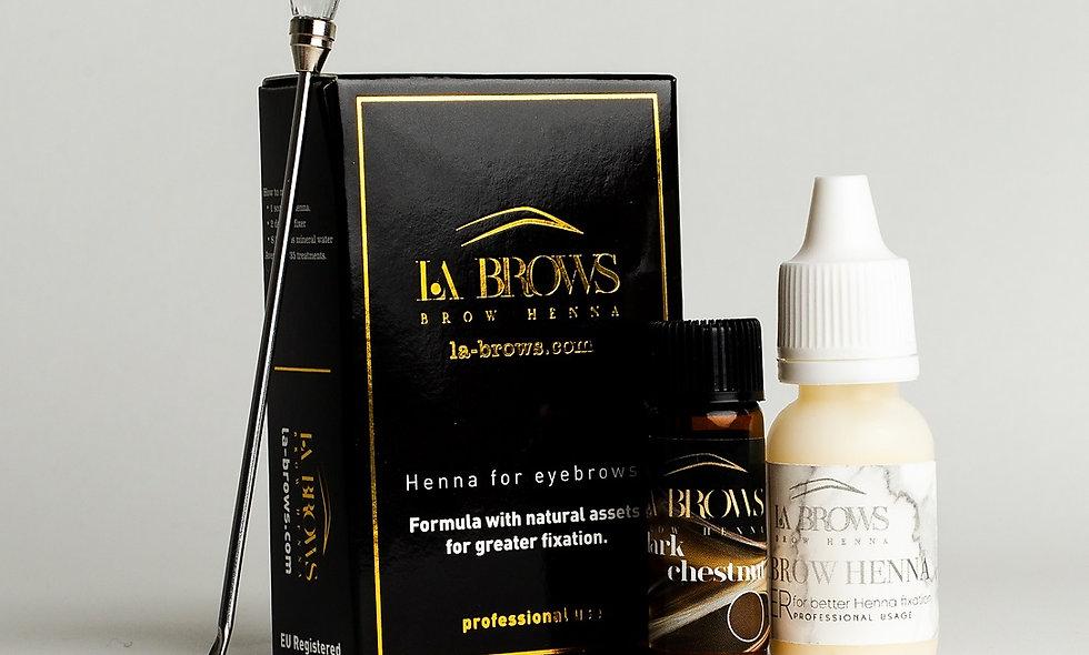 La Brows Henna - Dark Chestnut