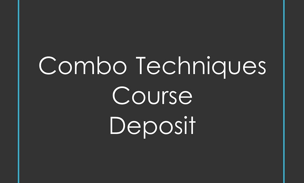 Deposit for Combo method training