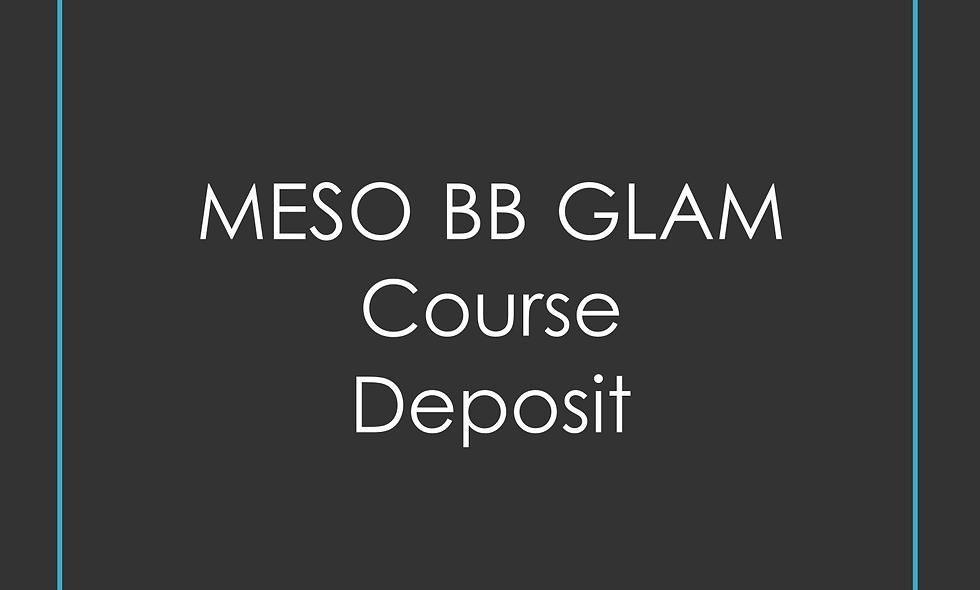 Deposit Meso BB Glam Training