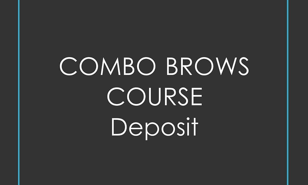 Deposit Combo brows Training