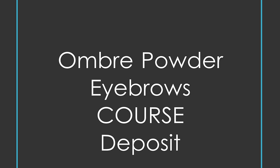 Deposit Ombre Powder Eyebrows Training
