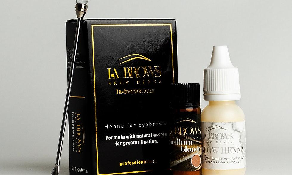 La Brows Henna - Medium Blonde