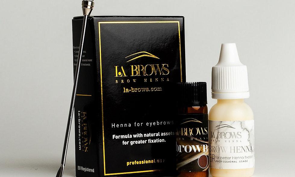La Brows Henna - Brown