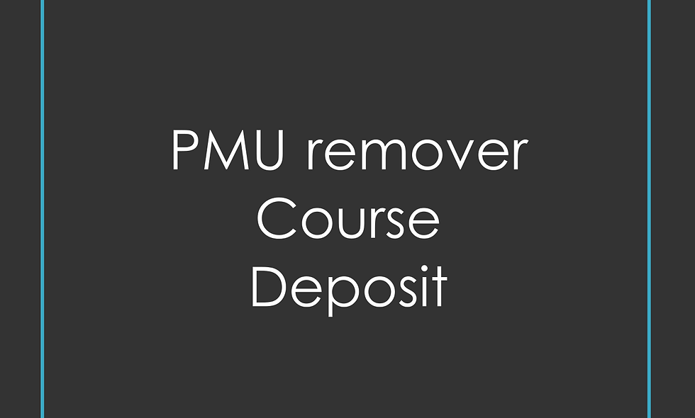 Deposit PMU remover Training