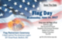 Flag Day 2017 postcard ROF-153981-front-