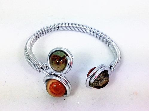 bracelet aluminium tryo jaspe