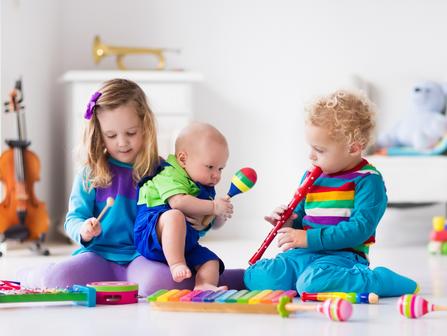 Jeunes enfants - Musique/ Young children - Music