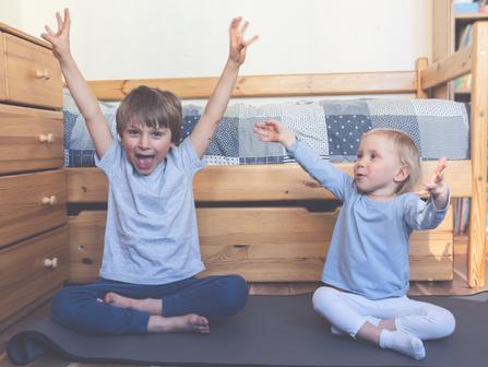Jeunes enfants - Activités pour faire bouger / Young Children - Activities to get you moving