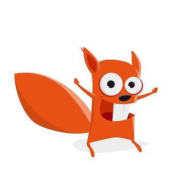 funny-cartoon-squirrel-is-feeling-powerf