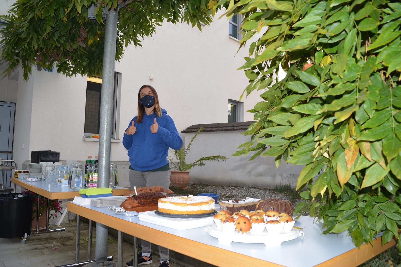 Feines Kuchen- und Kaffibuffet
