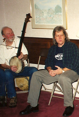 Dave and Pete Seeger- circa 2012