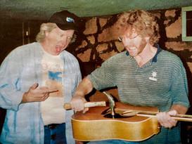 Dave & Sam in Studio