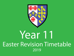 Year 11 Easter Revision Programme