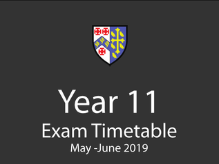 Year 11 External Exam Timetable