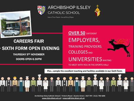 Careers Fair and Sixth Form Open Evening