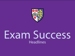 Exam Success Headlines